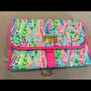 Lilly Pulitzer travel, makeup bag